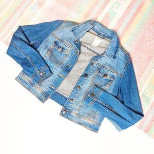 Mossimo Jean | Denim Jacket | Large